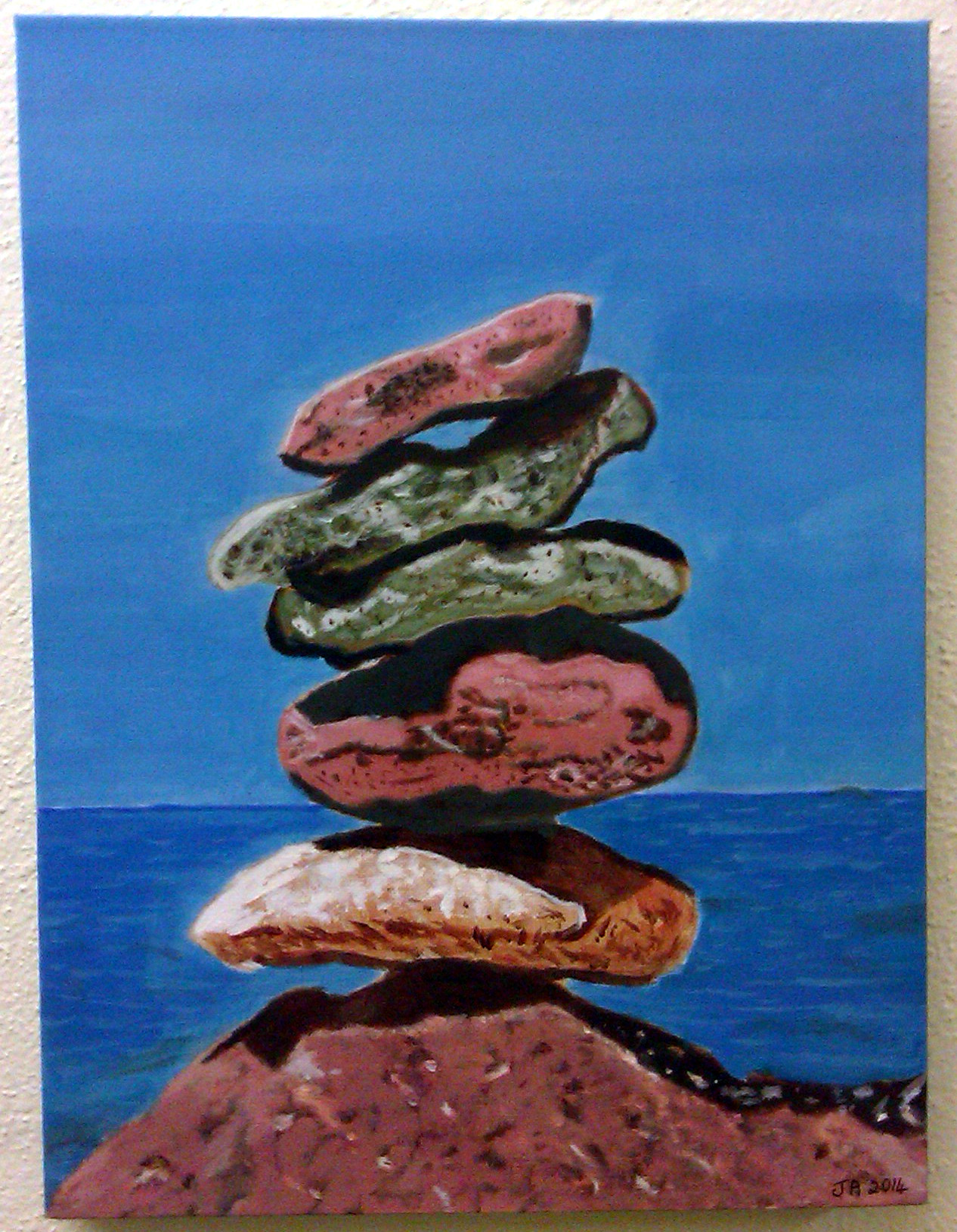 Art @MallowCollege  'Stacking Stones'