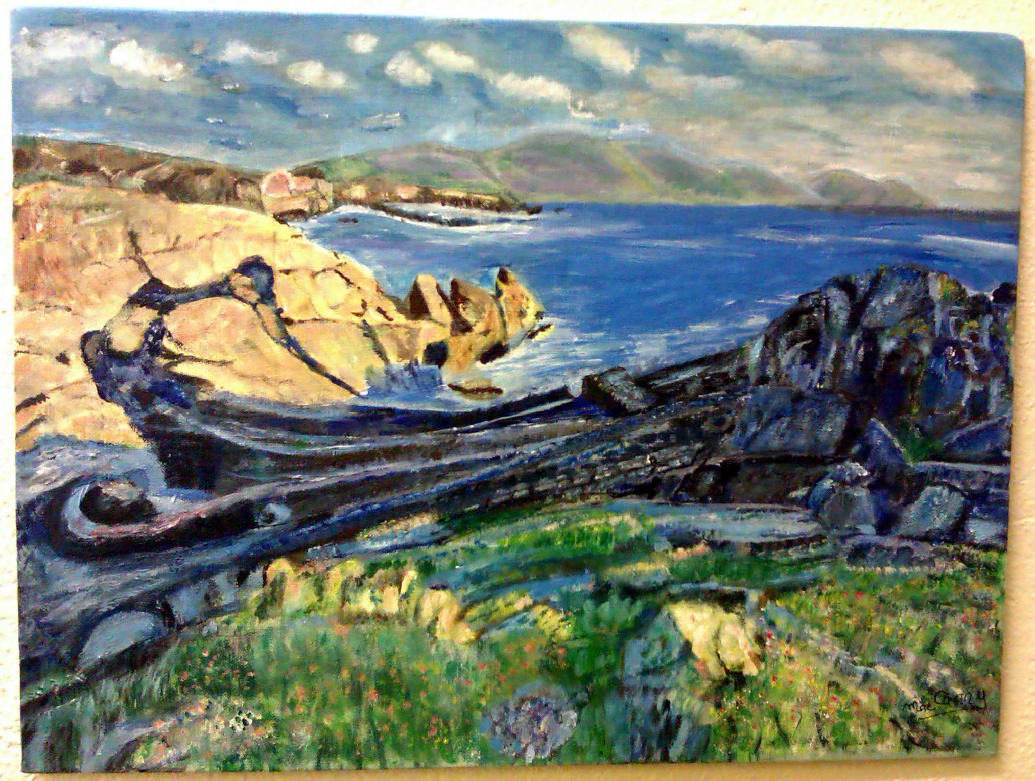 Art @MallowCollege 'Baera Peninsula'