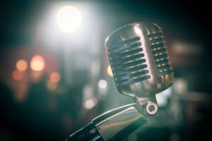 """Microphone"" by saaste @Flickr"