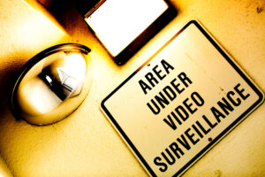 """Area Under Video Surveillance"" by Thomas Hawk @Flickr"