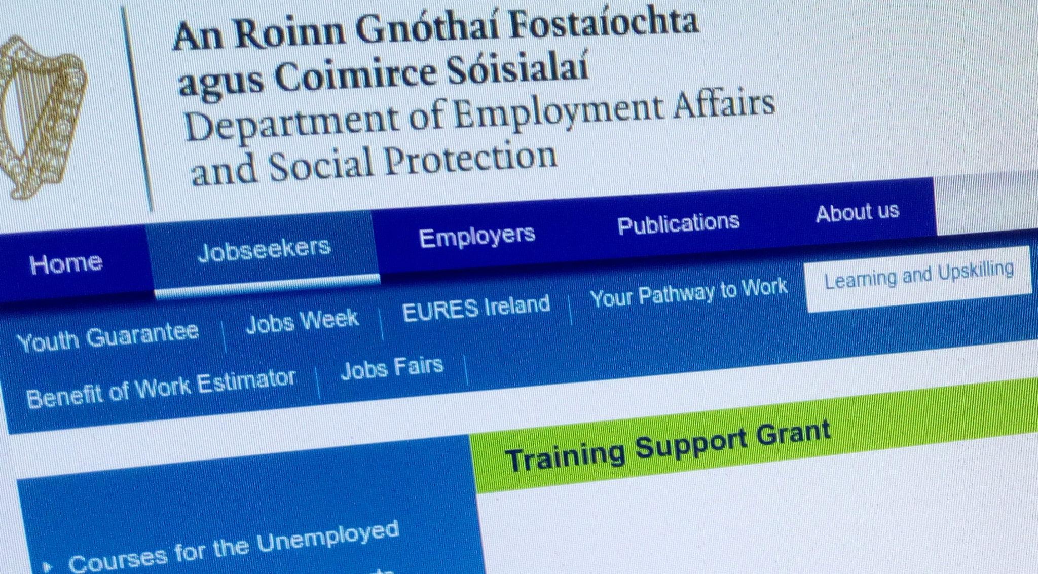 Training Support Grant